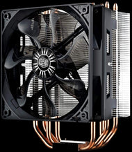 Load image into Gallery viewer, Cooler Master Hyper 212 Evo Cooler, 4 Heatpipes, 120mm PWM Fan, Aluminum Fins for AMD Ryzen/Intel LGA1200/1151