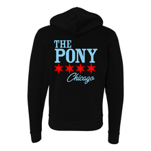Load image into Gallery viewer, Pony Chicago Star Unisex Full-Zip Hoodie - The Pony Shop