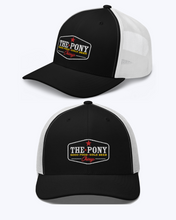 Load image into Gallery viewer, Classic Pony Logo Trucker Cap