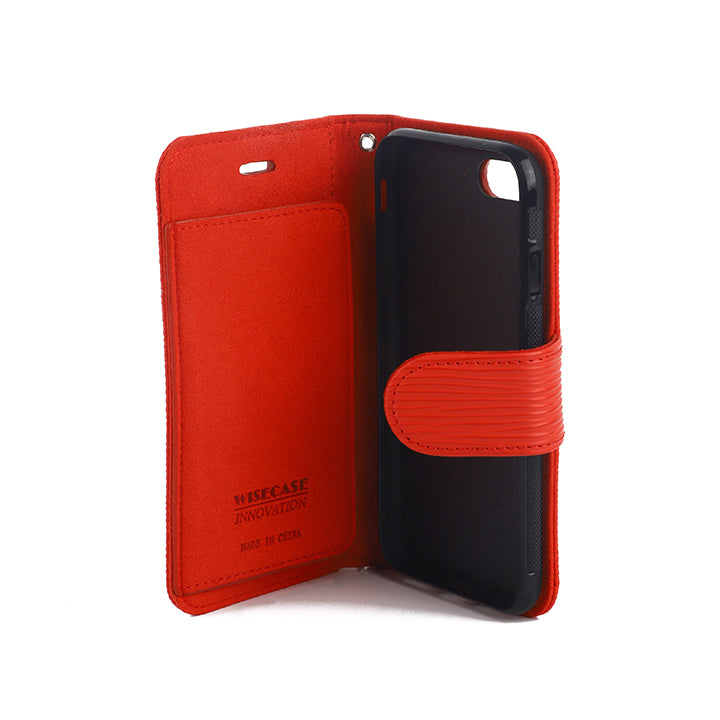Wisecase iphone 7/8/SE Deluxe Wallet Folio