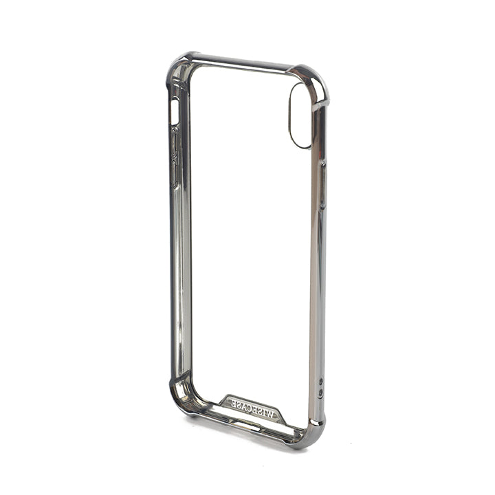 Wisecase iPhone XR Tough Gel Chrome