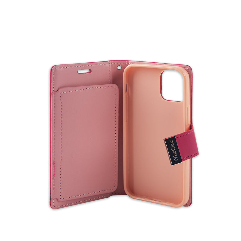 Wisecase iPhone 12Mini Pocket Diary Wallet