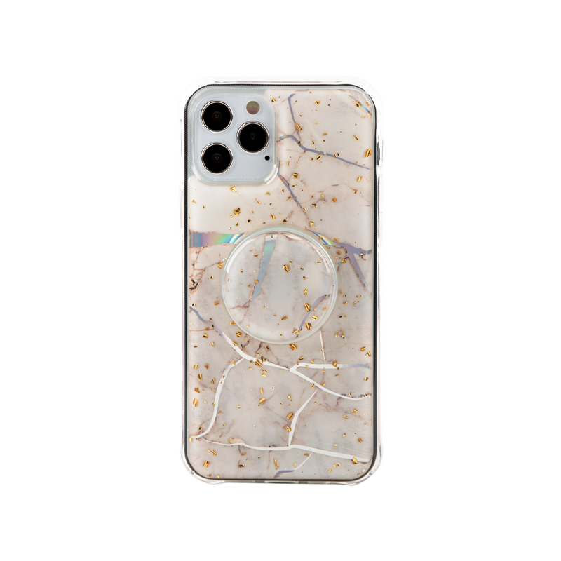 Wisecase iPhone 12Pro Shine Marble+Air Socket
