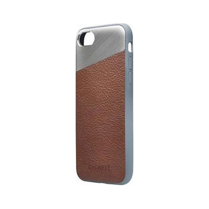 Cygnett Element Leather Case for iPhone 8 and 7 - Brown