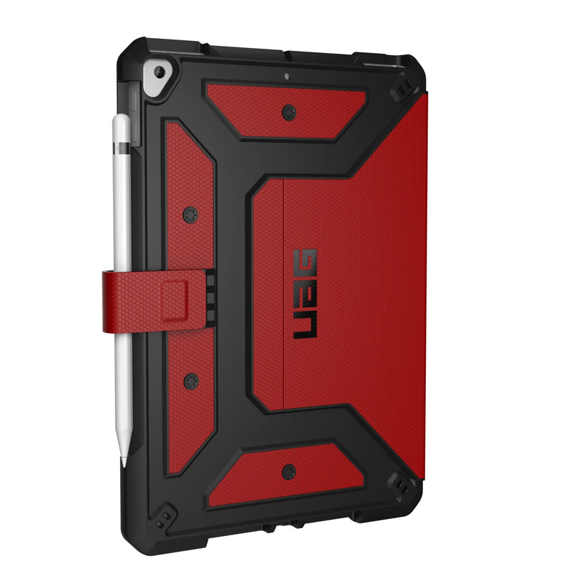 UAG Metropolis Case for iPad 10.2 - Magma
