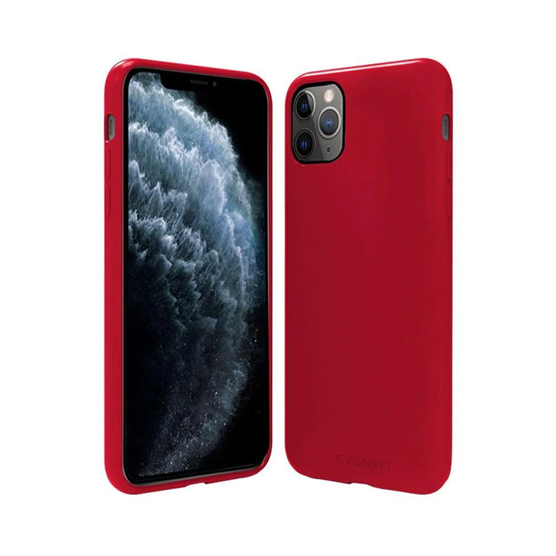 Cygnett Skin Soft Feel Case for iPhone 11 Pro Max - Red