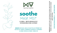 Load image into Gallery viewer, SOOTHE [anti-anxiety aromatherapy mask mist]