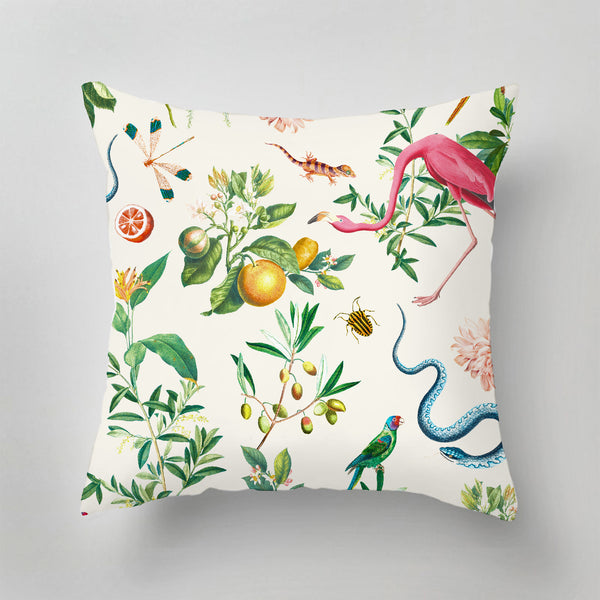 Indoor Pillow - GARDEN OF EDEN - soft marshmellow