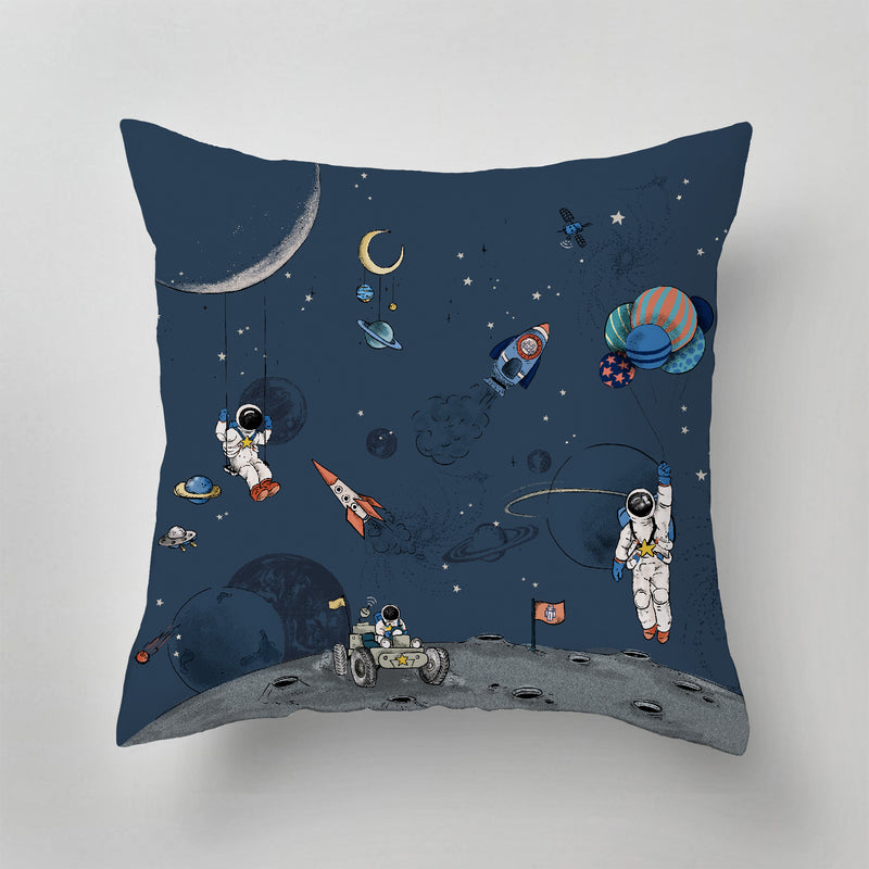 Indoor Pillow - INTO THE GALAXY - dark