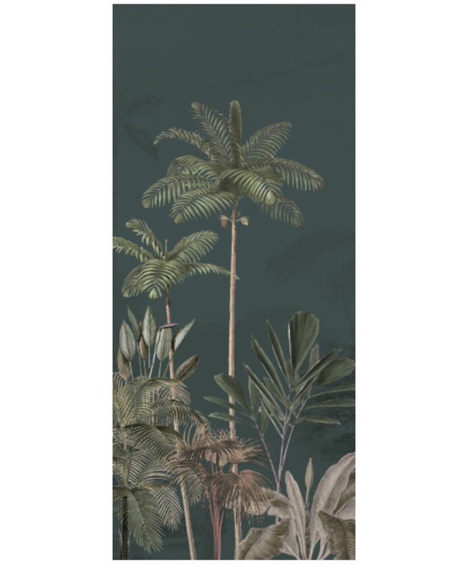Jungle Wallpaper - Full wall sized image - TROPICAL WILDERNESS dark