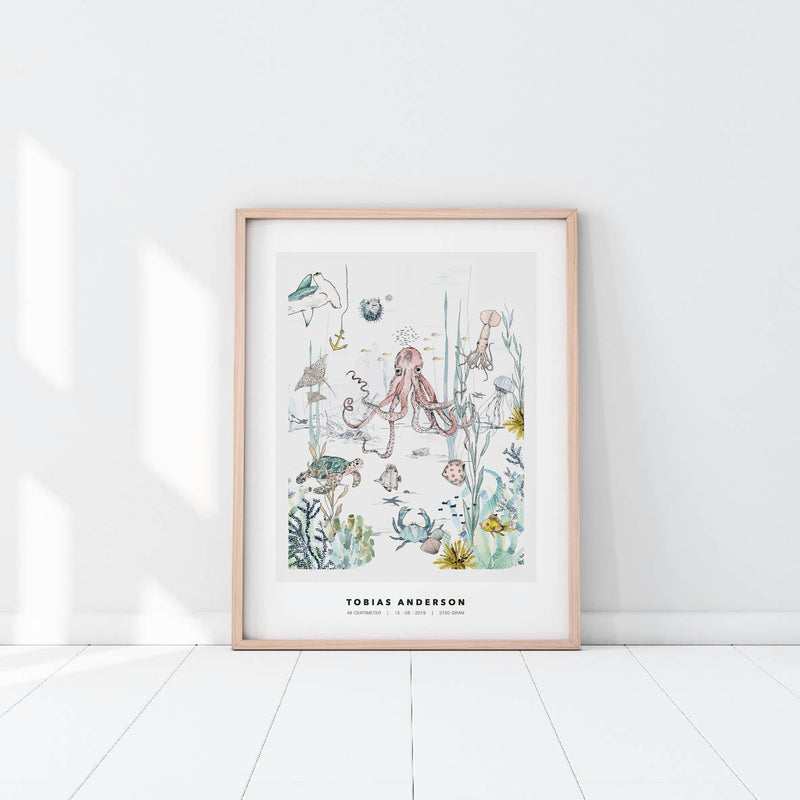 Personalized Poster - Underwater World