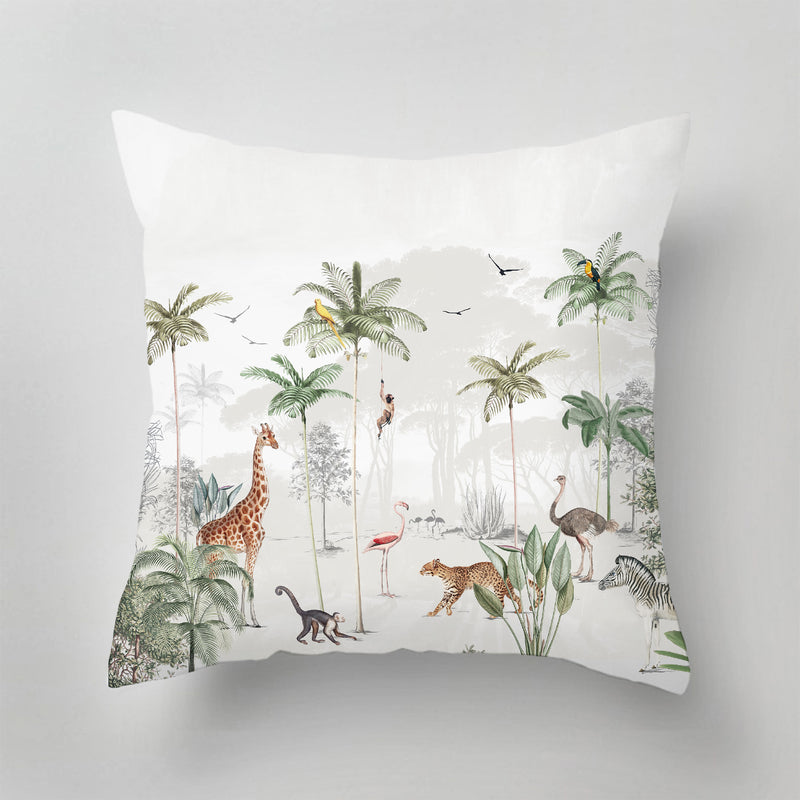 Indoor Pillow - WILDLIFE'S PLAYGROUND