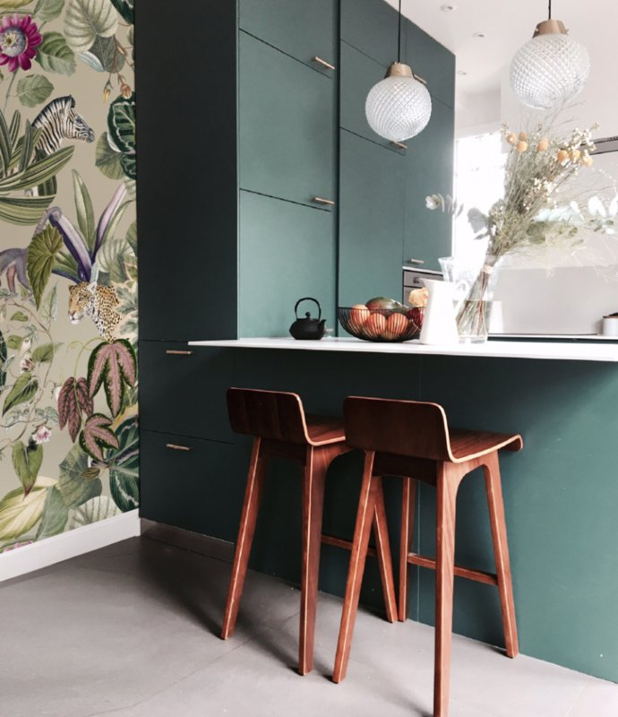 Jungle Wallpaper - BOLD BOTANICS - green