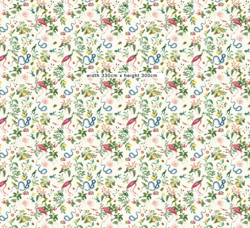 Wallpaper - GARDEN OF EDEN - soft marshmellow