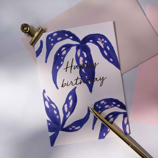 Greeting card - LILLY