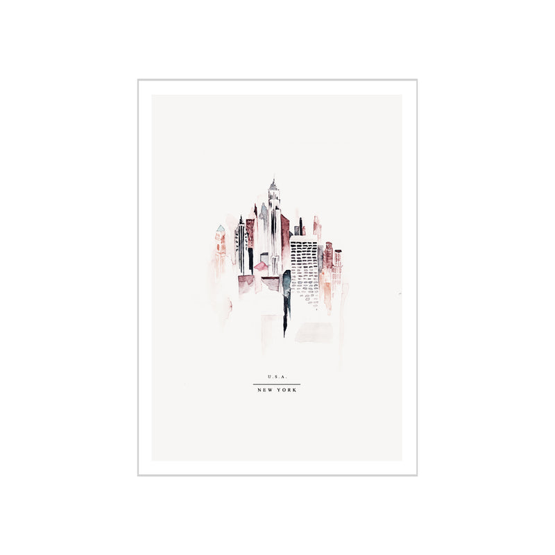 Mini poster A5 - New York