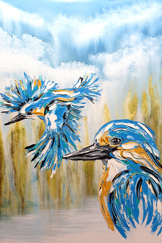 Kingfishers at the Falls