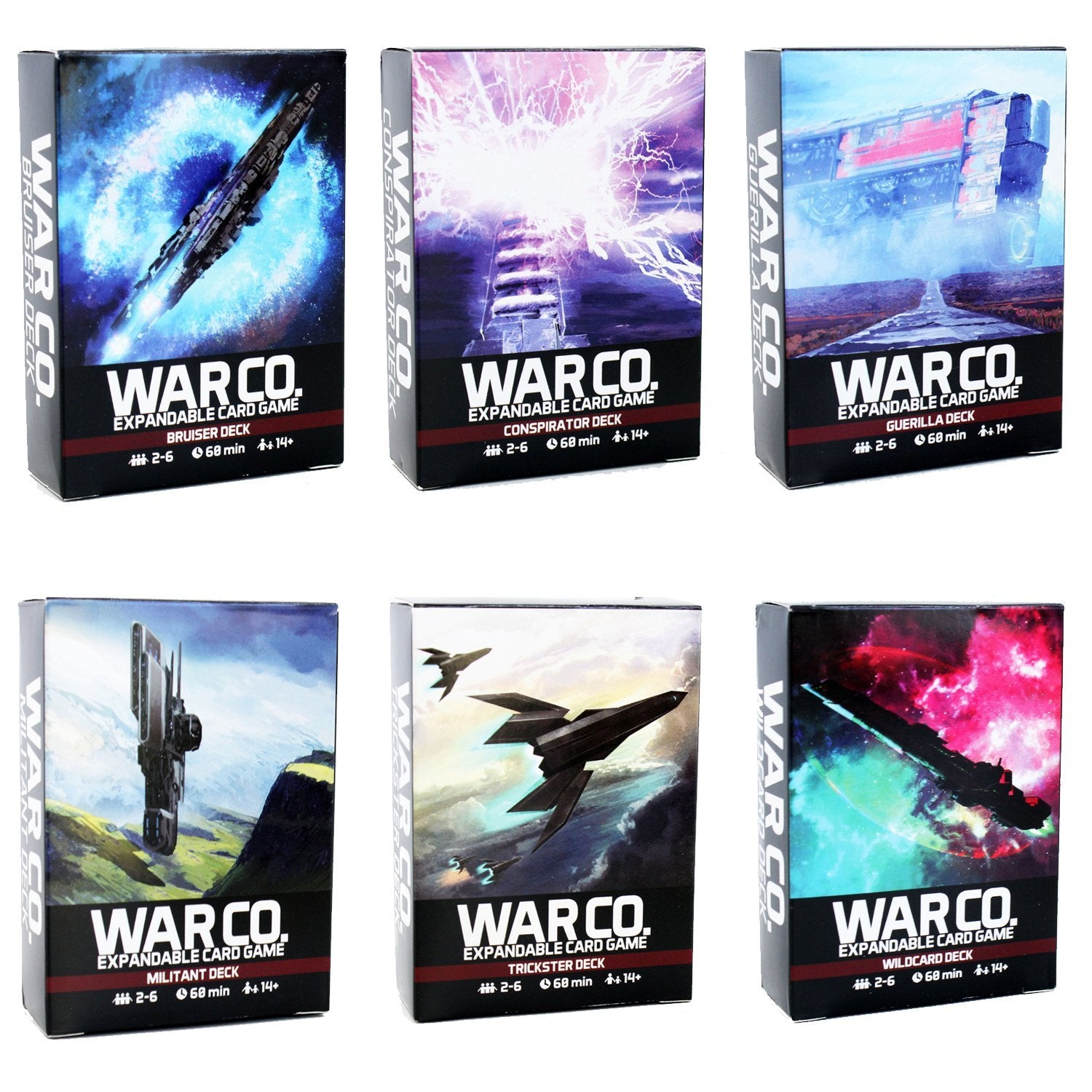 War Co. Card Game - Pangea Board Games