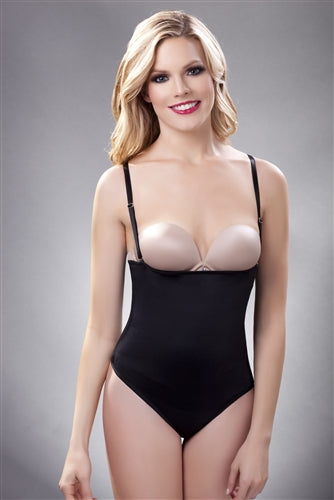 Vedette 211 Strapless Bodysuit in Thong