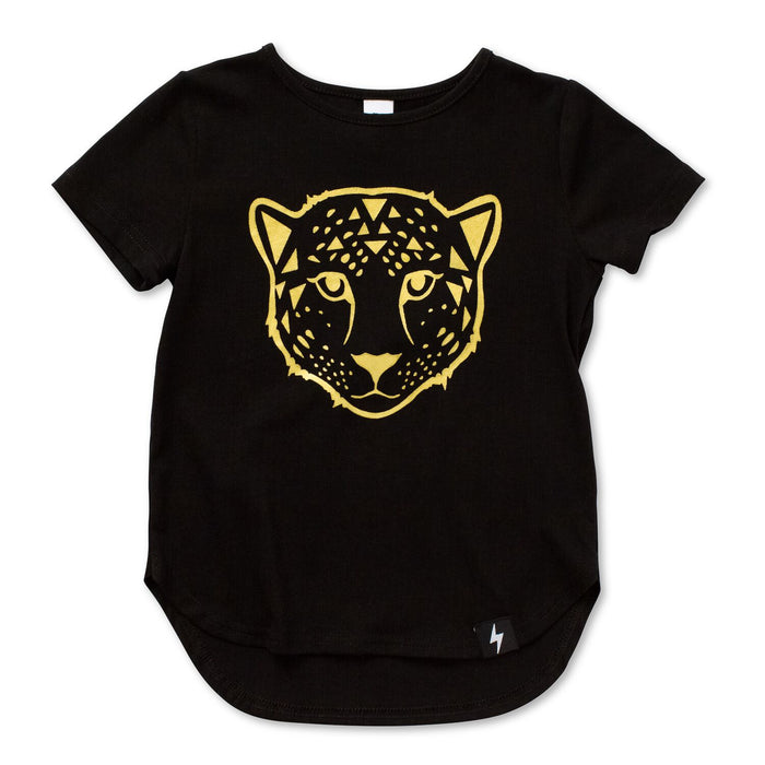 Kapow Kids Big Cat Drop Back Tee