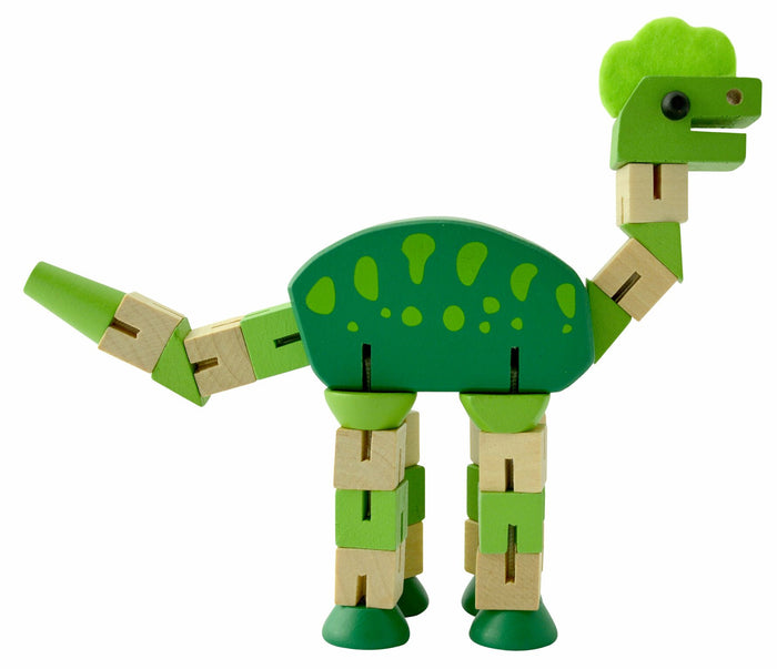 Seedling Wooden Cube Dino