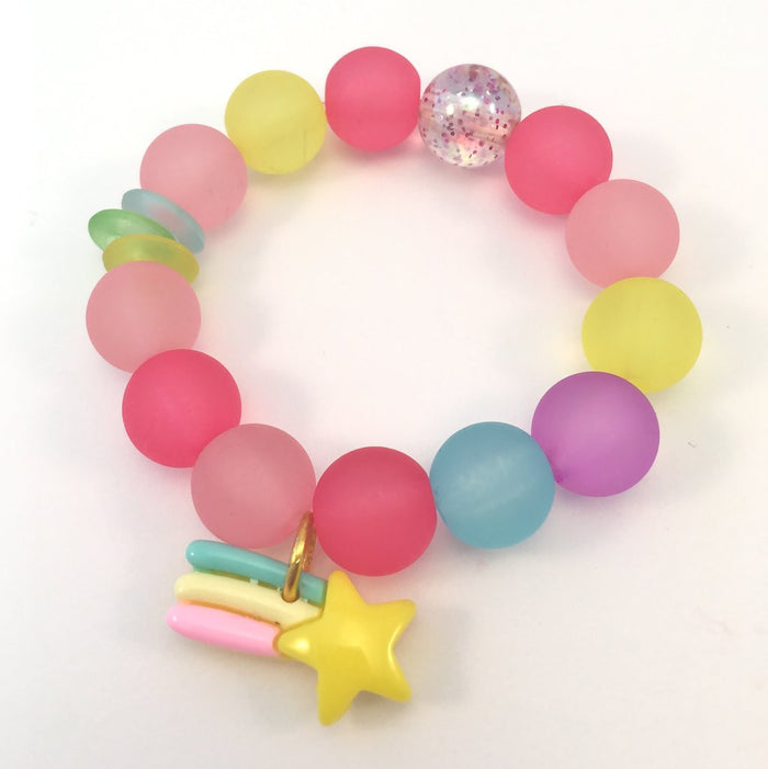 Red Bobble Shooting Star Bracelet