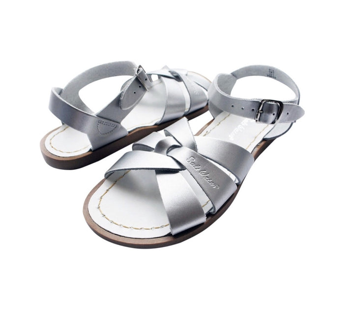 Saltwater Sandals Original Children's Silver