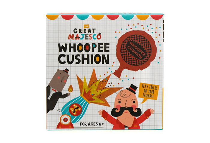 The Great Majesco Whoopee Cushion Box