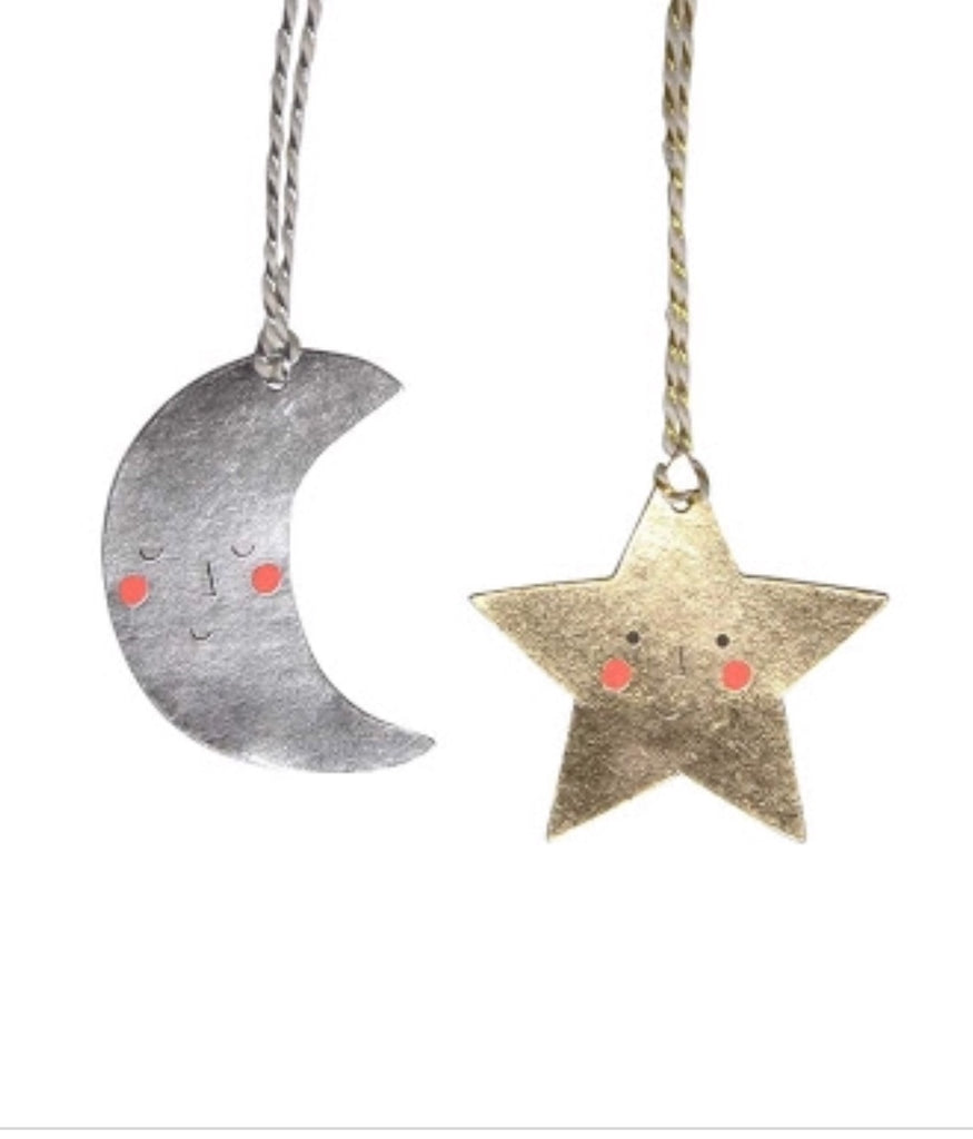 Meri Meri Moon And Star Gift Tags