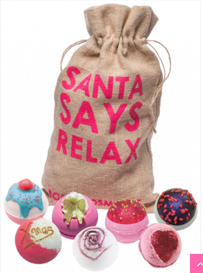 Bomb Cosmetics Santa Says Relax Gift Set