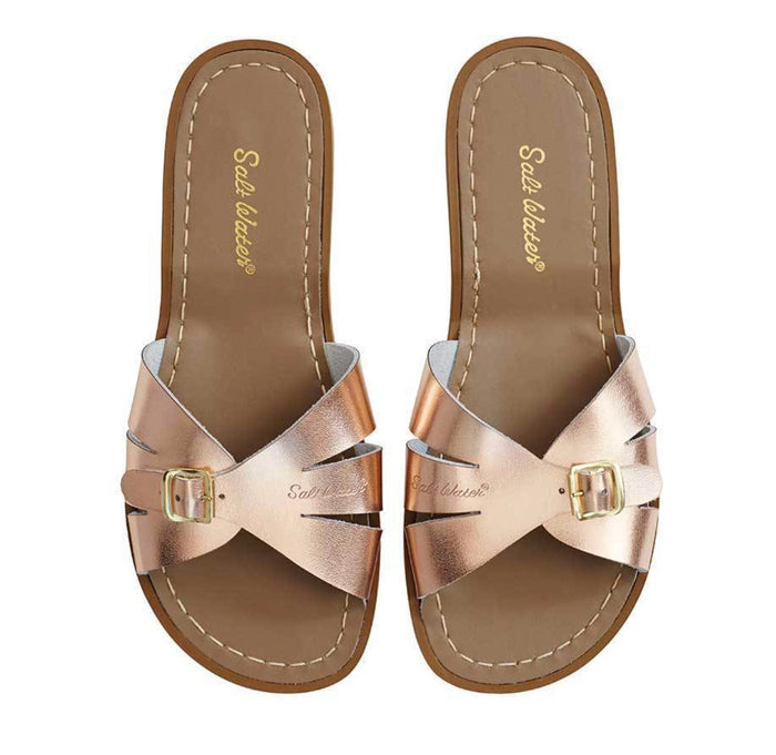 Saltwater Sandals Women's Slide Rose Gold
