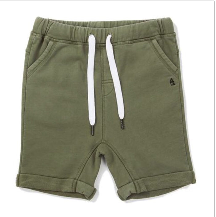 Alphabet Soup Level Short Khaki