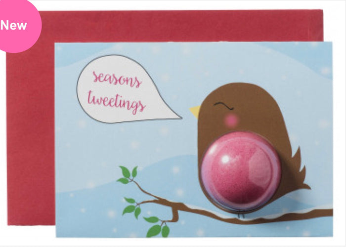 Seasons Tweeting Blaster Card
