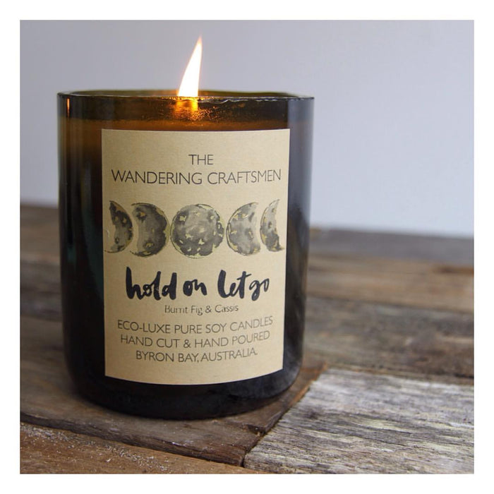 The Wandering Craftsmen Hold On Let Go Candle
