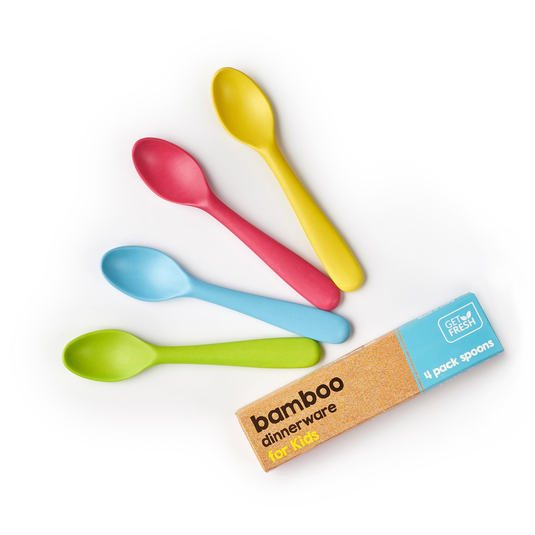 Bamboo Toddler Spoons