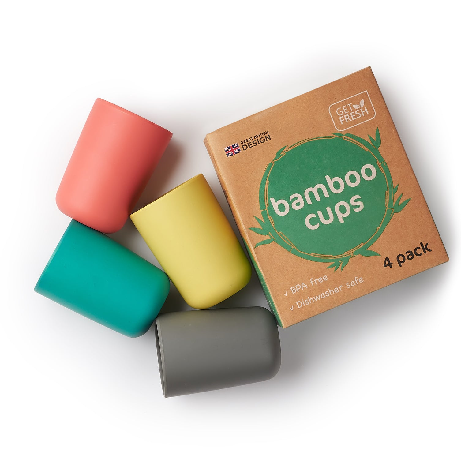 Bamboo Kids Cups