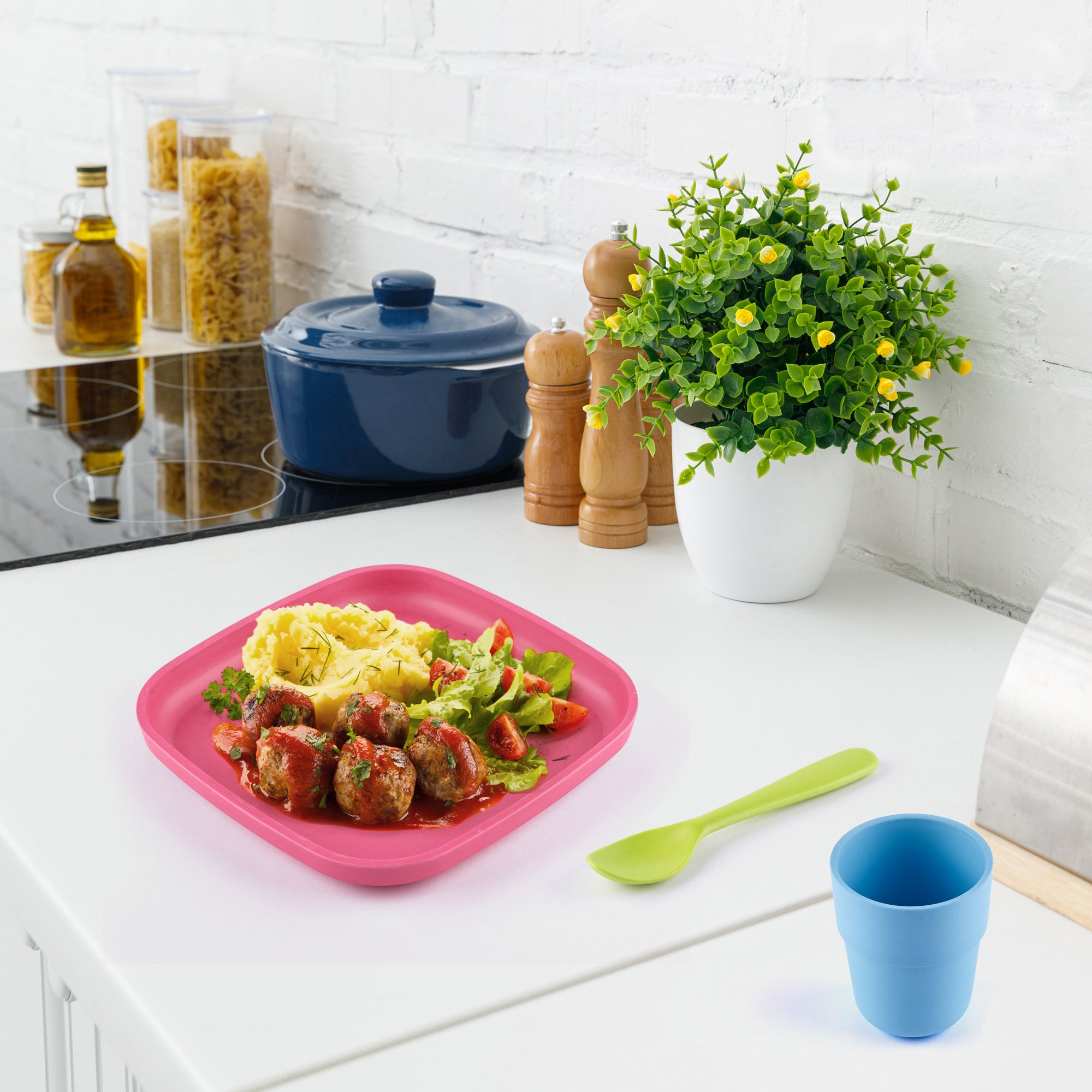 Bamboo Toddler Plates