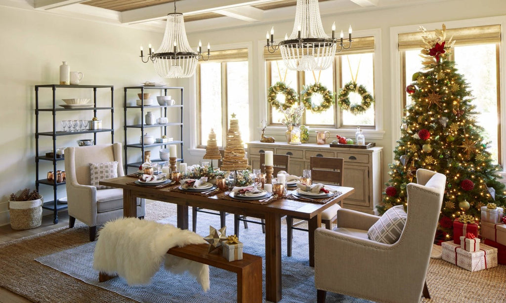 Country Christmas Decorating Themes