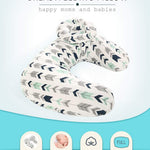 Miracle Baby Nursing Pillow & Positioner - Breastfeeding Nursing Pillow, U Shape Nursing and Infant Support Pillow