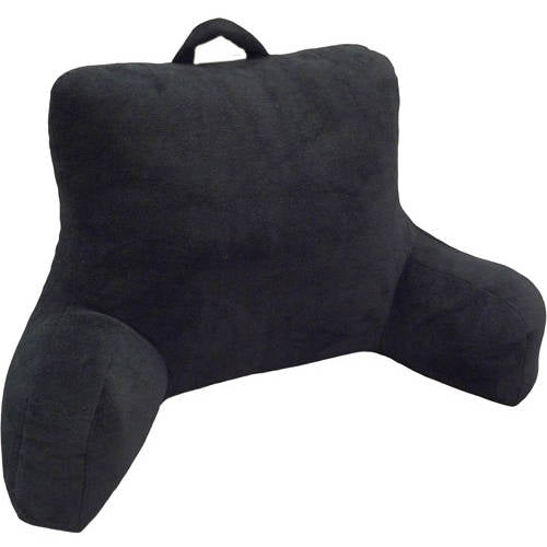 Micro Mink Plush Backrest Lounger Bed Rest Pillow