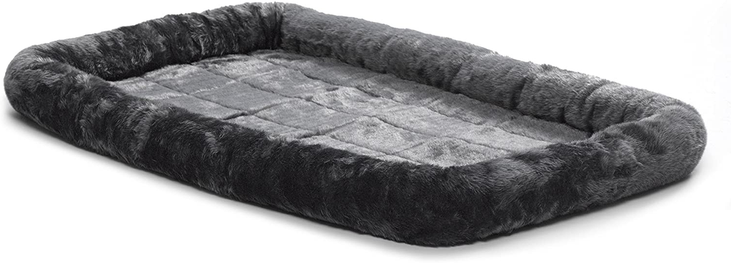 MidWest Quiet Time Fleece Dog Crate Mat, Dog Bed