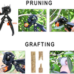 Garden Grafting Tools, Garden Pruning Tools Grafting Tapes Rubber Tool Kit