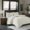 Aurora Ivory Extra Warm Ultra Plush and Cozy Plush Down Alternative Comforter Set