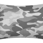 Heritage Club Gray Camouflage 7-Piece Bed in a Bag Camo Bedding Set