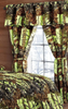 Regal Comfort The Woods Lime Green Camouflage 5-Piece Curtain Set Hunters, Cabin or Rustic Lodge