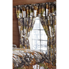 Regal Comfort The Woods Snow White Camouflage 5-Piece Curtain Set Hunters, Cabin or Rustic Lodge