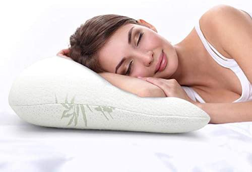Premium Luxury Bamboo Shredded Memory Foam Bed Pillows