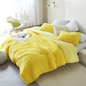 Birds of a Feather - Coma Inducer Oversized Comforter - Sunshine Yellow