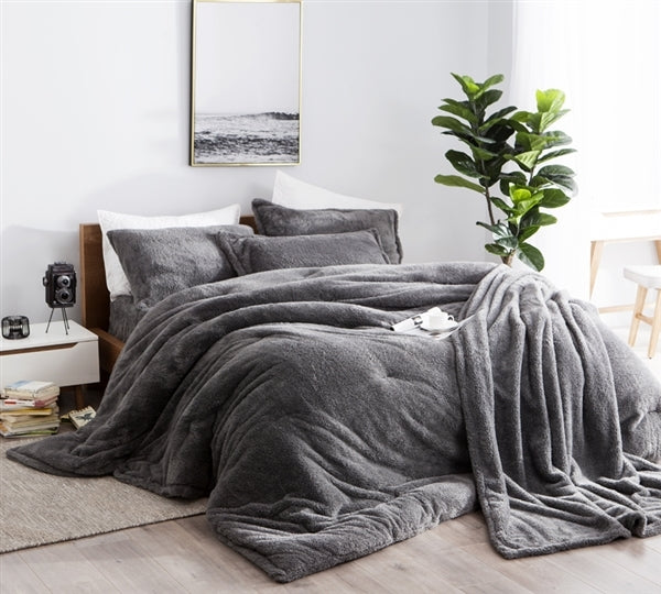 Byourbed Charcoal Gray Coma Inducer Comforter