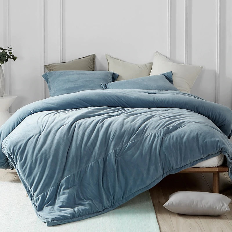 Coma Inducer Oversized Comforter - Baby Bird - Smoke Blue